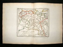 Barthelemy 1790 Antique Map Phocis, Greece